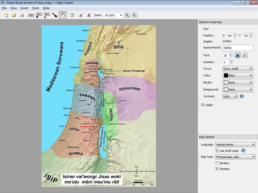 Map Creator.Map Creator